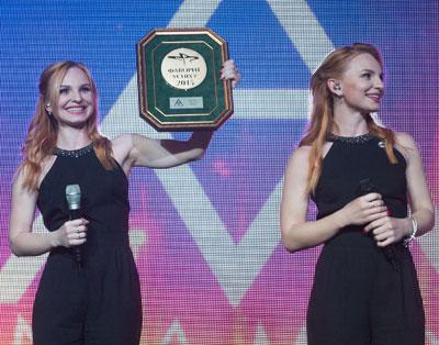 Дуэт Анна-Мария на церемонии награждения «Фаворитов Успеха– 2015»