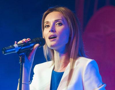 Аида Николайчук на церемонии награждения «Фаворитов Успеха– 2015»