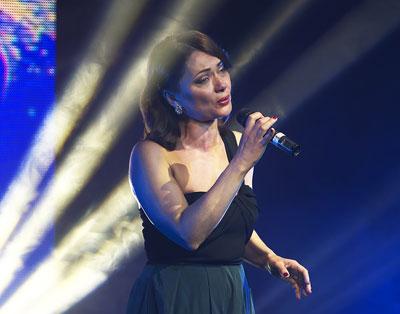 Елена Гончарук на церемонии награждения «Фаворитов Успеха– 2015»